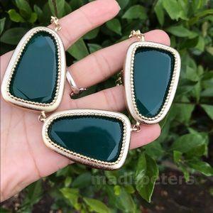 Kendra Scott Galeana Necklace in Emerald